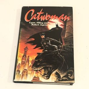 DC Comics Catwoman Book Fiction Vintage
